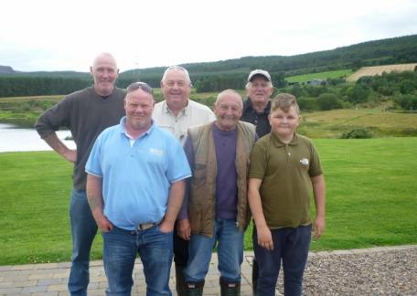 Some of the anglers from The Hoy 'N' Hope club who fished a friendly competition at Thrunton