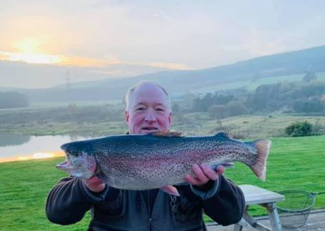David Keith netted this cracking 6lb 6oz Rainbow