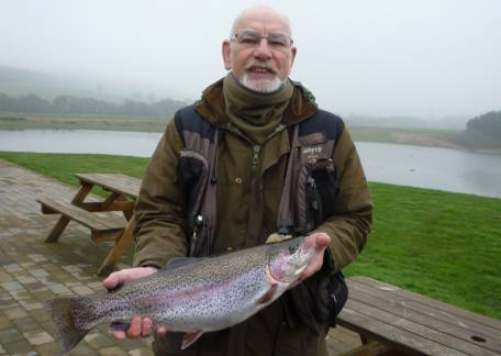 John Robson had a good days fishing with one of his fish at 4lb 10oz from Coe Crag