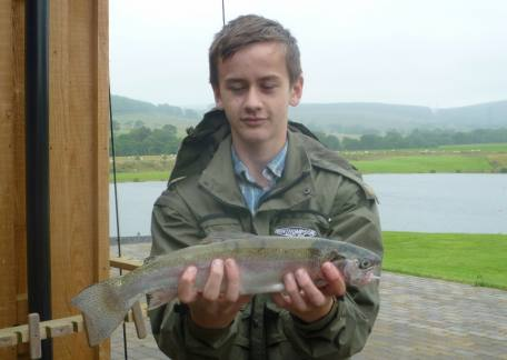 Junior Joseph Graham enjoyed his coaching session landing this rainbow on a PTN