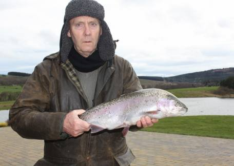 Peter McCarron for Newcastle landed this 5lb 3oz using a slow retrieve on a ginger spider