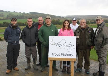 Veterans from the Fishing for Heroes charity who enjoyed their day with coaches Lucy Bowden(www.fishing for everyone.com) and Andy Richmond