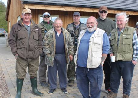 Some of the Morpeth Conservatives who fished a friendly competition over the weekend