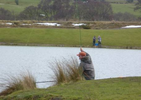 Rob Frame from West Denton into another fish which allowed him to qualify for the TEFF final