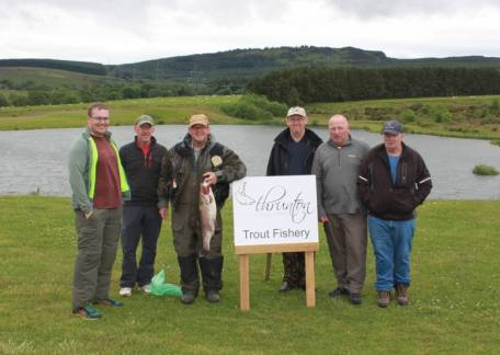 Members from the Blyth and Wansbeck Fly Fishing Club.