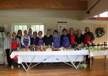 The ladies from Action Medical Research who recently held a coffee morning at Thrunton