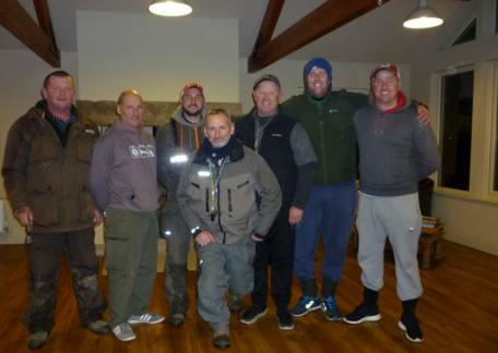 The qualifiers in the Fritz 'n' Flies pairs competition at Thrunton