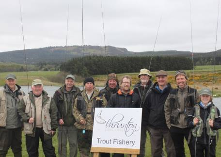 The Castaways from Alnwick who held a friendly competition at Thrunton on Sunday