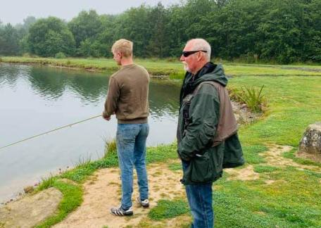 Steve McCann also a UKCC Level 2 Game angling coach, giving some coaching on Coe Crag Lake. If you'd be interested in booking a lesson, please contact the fishery.