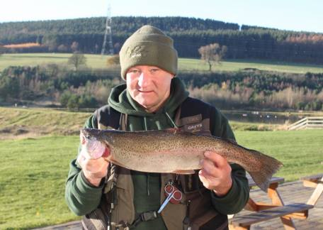Allan Scott from Newcastle landed this 4lb 9oz on a cats whisker from Long Crag