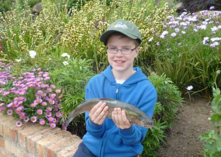 Glendale pupil Ryan Cowans was top rod with one of his fish landed on a grey buzzer