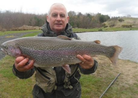 Matty Devine from Hadston had another good day with another double figure rainbow  on a ' devine dancer'