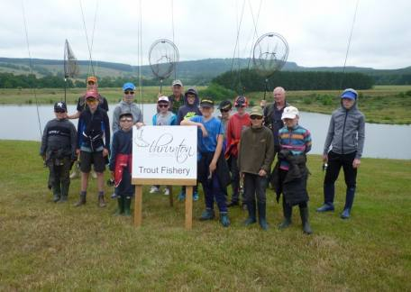 Pupils from Glendale Middle School who enjoyed their day at Thrunton. Thanks to coaches Steve, Joe and Lol