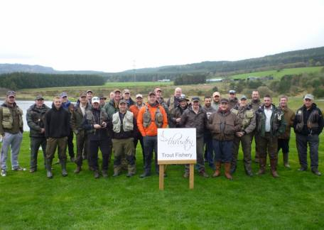The Chopwell Chancers who fished for the Darren McNestry Memorial Trophy