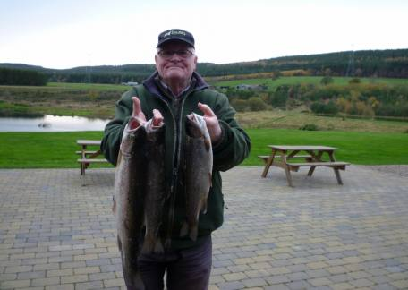 Ron Rainbow from Chester-le-Street was delighted with these 3 which he kept to 5lb
