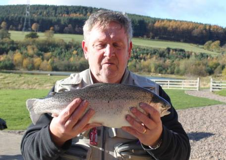 Mick Thompson from Newcastle enjoyed using a black bunny leech to net this 4lb 13oz fish