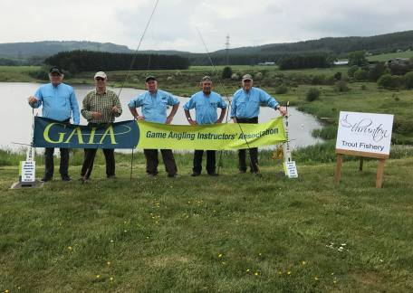 4 GAIA instructors who kindly offered their services to anglers at Thrunton this weekend