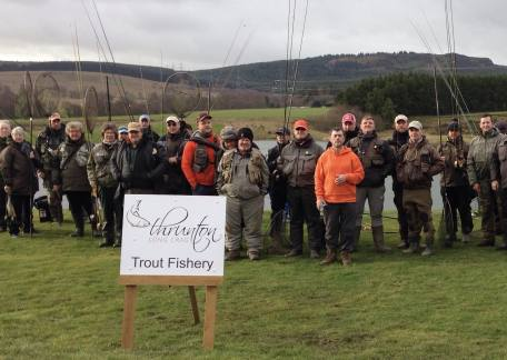 Anglers who fished in the TEFF fundraising competition.