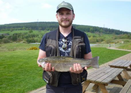 Connor Stoddart from Dipton landed this 4lb 9oz on a hawthorn from Long Crag