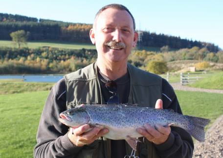 Alan Robinson from Morpeth used an orange fritz to net this 4lb 10oz fish from Coe Crag