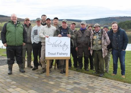 Some of the members of The Fly Patch group who enjoyed their day on Saturday