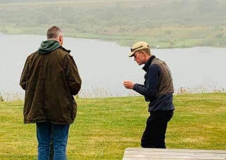 UKCC Level 2 Game angling coach, Joe Dewhirst giving some tuition. If you'd be interested in booking a lesson please contact the fishery.