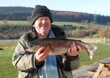 David Mathais from Burnopfield with 4lb 15oz from Long Crag on a black buzzers