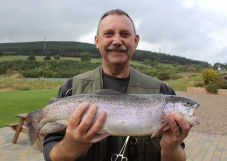 Alan Robinson from Morpeth landed this 5lb fish from Coe Crag on an Ace of Spades