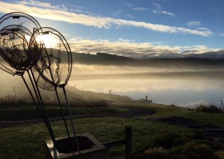 Misty Morning over Long Crag