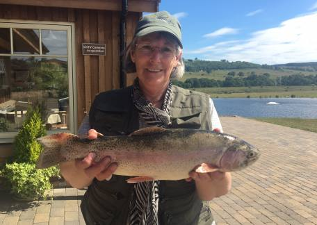 Another beauty landed by Caroline Brown, showing the boys that you can catch in hot weather