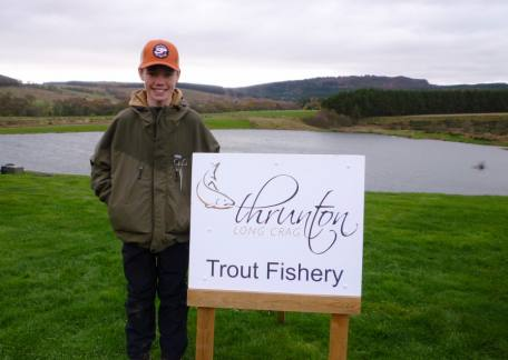 13 year old Harrison Douds who finished third and qualified for the the Fritz 'n' Flies final. Well done Harrison