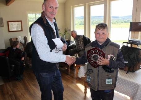 Jack Metcalf from Newbiggin won the James Robinson Shield for the largest fish caught by a Junior during the year. It was an 18lb rainbow