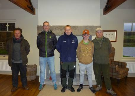 Peter Crowe and Brian Lillie, winner of the Fritz 'n' Flies Pairs with Jim Tuck and second place Harrison Douds with Brian Davis