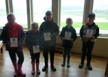 Some of the Juniors who completed their CAST Starter and Level 1 awards